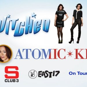 B Atomic Kitten With S Club And East 17