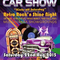 Retro Rock N Shine Night